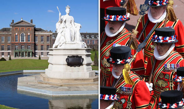 Royal news Kensington Palace staff and the Beefeaters could go on strike Image GETTY