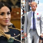 Royal spectators expressed concern after spotting faded red scars on Meghans feet in New Zealand Image GETTY