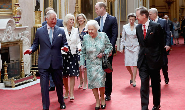 Royals at Buckingham Palace Images are part of a set to mark His Royal Highnesss 70th birthday Image Chris Jackson Getty Imagesfor Clarence House