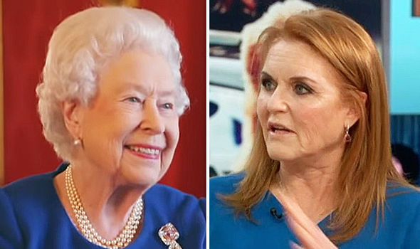 Sarah Ferguson Fergie paid glowing tribute to the Queens incredible inclusiveness Image CBS ITV