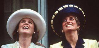 Sarah Ferguson and Princess Diana were close friends Image GETTY