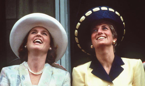 Sarah Ferguson and Princess Diana were close friends Image GETTY