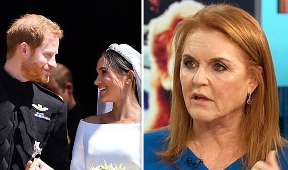 Sarah Ferguson delivered a heartfelt thanks to Meghan Markle and Prince Harry for inviting her Image GETTY•ITV