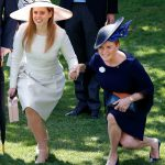 Sarah Ferguson has worked hard to get back into the firm Image GETTY