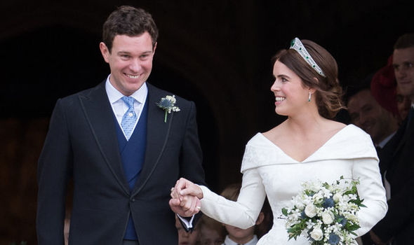 Sarah Ferguson revealed where Princess Eugenie and James Brooksbank stayed before their honeymoon Image GETTY