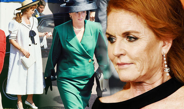 Sarah Ferguson spoke about her struggle with weight gain in an exclusive interview Image GETTY