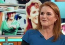 Sarah Ferguson told how she went nuts at her daughters Royal Wedding Image ITV