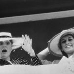 Sarah opened up about how she thought of Diana at Eugenie's wedding Image GETTY