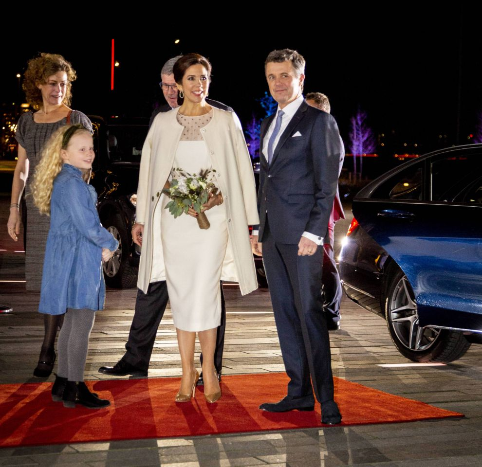 The Crown Prince Frederik and Princess Mary at the Presentation of The Crown Prince Couple awards in Aalborg Denmark Source MEGA