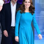 The Duchess looked lovely in an Emilia Wickstead dress Photo C GETTY