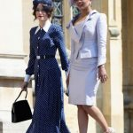 The Duchess of Sussex's former 'Suits' co star wore the now famous dress to the royal wedding Photo Getty
