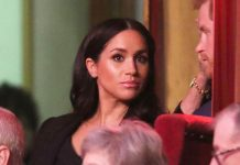 The Duchess of Sussex attended her first Remembrance festival alongside Prince Harry Image GETTY IMAGES