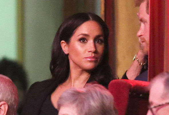 The Duchess of Sussex 37 paid her respects with her husband and other royals Image PA