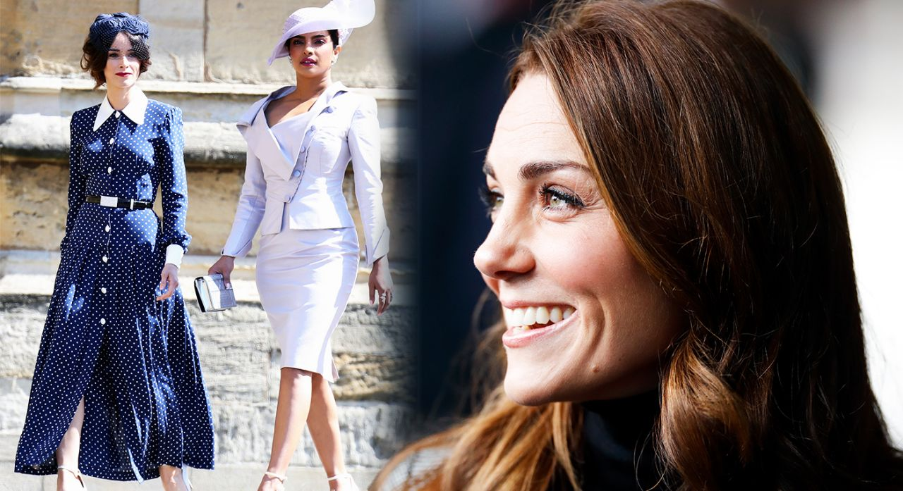 The Duchess of Sussex recently looked to one of Meghan's close friends for fashion inspiration Photo Getty