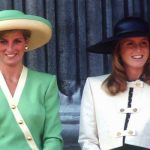 The Duchess of York and Princess Diana pictured together in 1990 Image Getty