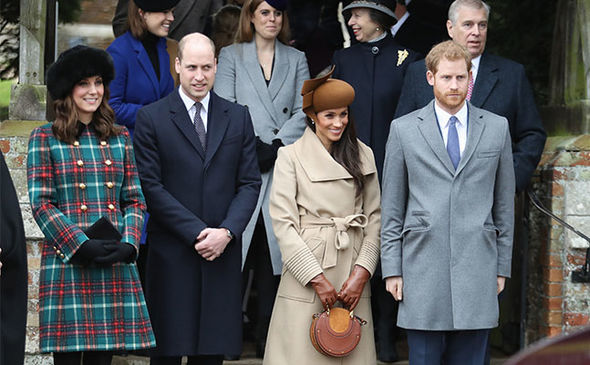 Kate Middleton has joined the royals for Christmas since 2011 Image GETTY