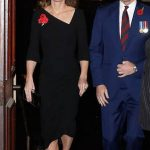 The Duke and Duchess of Cambridge arrived at the Royal Albert Hall shortly after Prince Harry and Duchess Meghan Photo C GETTY IMAGES
