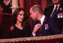 The Duke and Duchess of Cambridge at the Royal Festival of Remembrance Photo C GETTY IMAGES