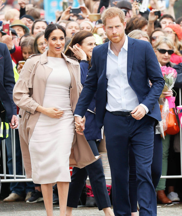 The Duke and Duchess of Sussex were in Auckland for the last leg of their royal tour Image PA