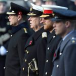 The Earl of Wessex the Duke of York the Duke of Sussex and the Duke of Cambridge Image PA