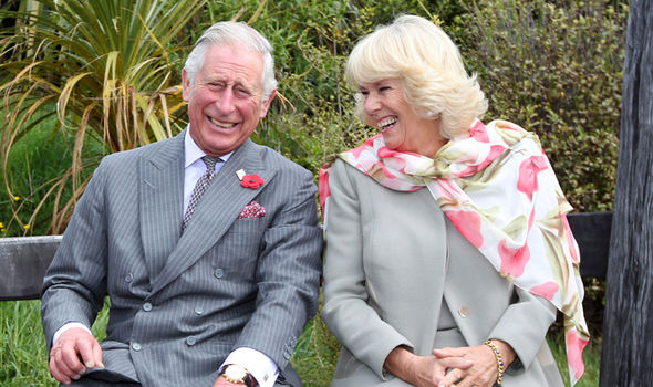 The Prince of Wales with his wife Camilla Duchess of Cornwall Image GETTY