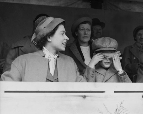 "The Queen ""knew that worries about his behaviour"" would ""stretch her own taut nerves"" Image Getty"