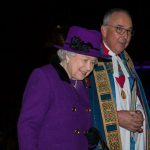 The Queen attending the event at Westminster Abbey Image PA