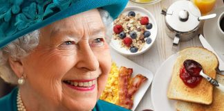 The Queen enjoys her food but what does she have for breakfast Image GETTY
