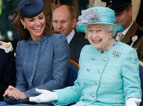 The Queen is said to have a wicked sense of humour Image GETTY