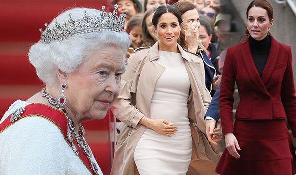 The Queen is said to have suggested Prince Harry moves to Frogmore Cottage Image GETTY
