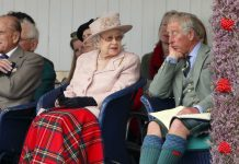 The Queen was losing her patience with Prince Charles' behaviour during previous social functions Image Getty