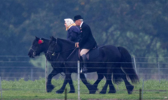 The Queen horseriding as a teenager Image BBC