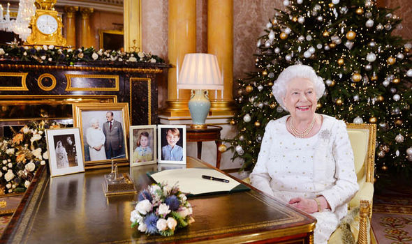 The Queens speech is broadcasted on Christmas Day Image GETTY