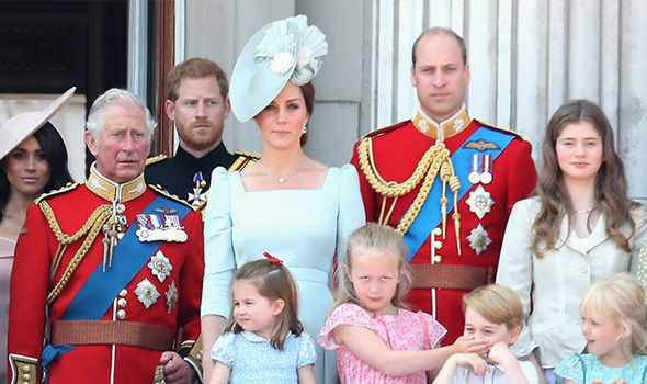 The Royal family Image GETTY