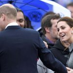 The Royal was asked about her sister in law during a visit to Leicester yesterday Image Karwai Tang WireImage