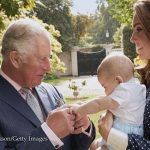 The doting grandfather is besotted with his youngest grandchild Image Chris Jackson Getty Images