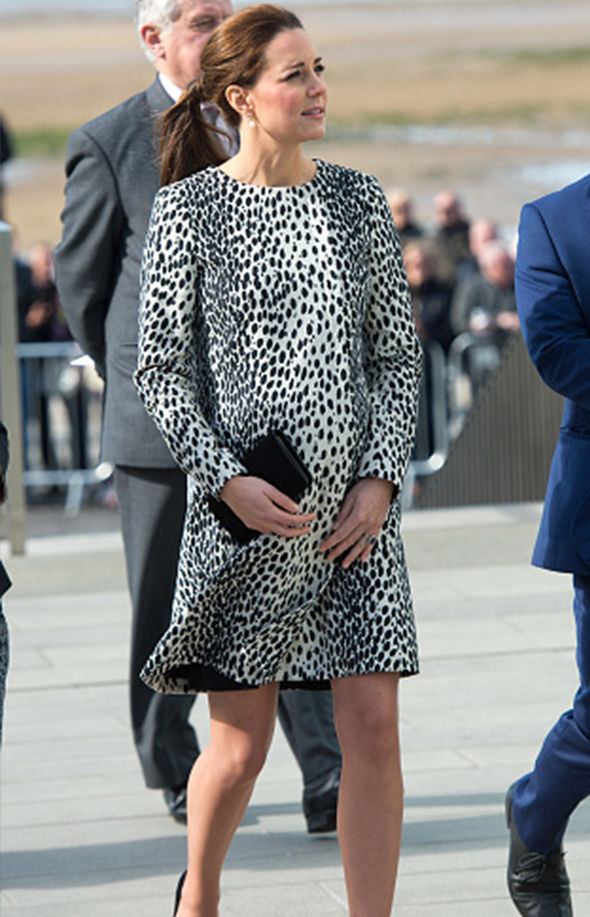 The expert said Kate did go shorter for sure Image Getty