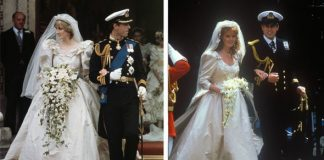The pair drew comparisons as outsiders marrying into the royal family Image Getty