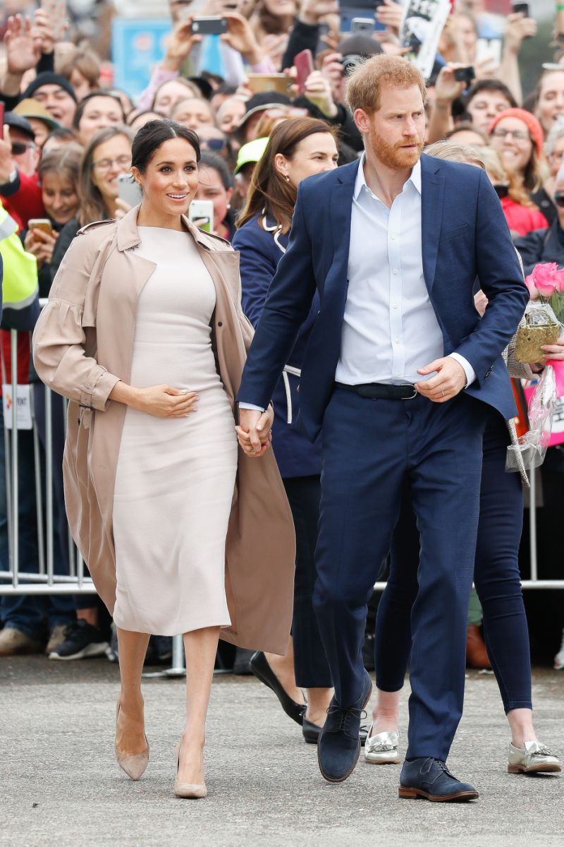 The royal couple announced the pregnancy last month Photo Getty