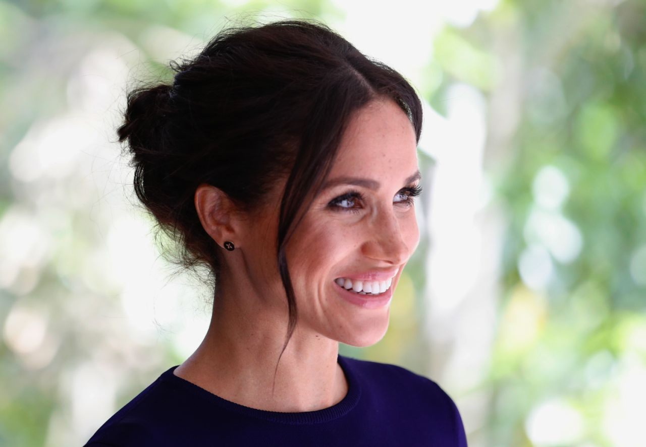 The same rule applies to Meghan Markle who is also not a princess but the Duchess of Sussex Source Getty