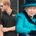 There was reportedly an air of tension at Meghans first meeting with the Queen Image GETTY