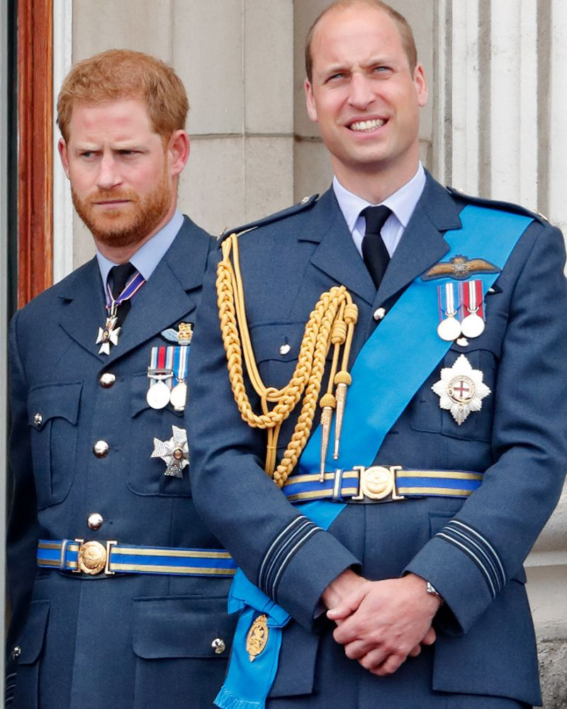 They used to lean on each other for everything but now that they're married Harry and William are going their separate ways Photo Getty