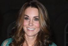 This is the most stunning picture of Duchess Kate at Prince Charles birthday dinner Photo C GETTY
