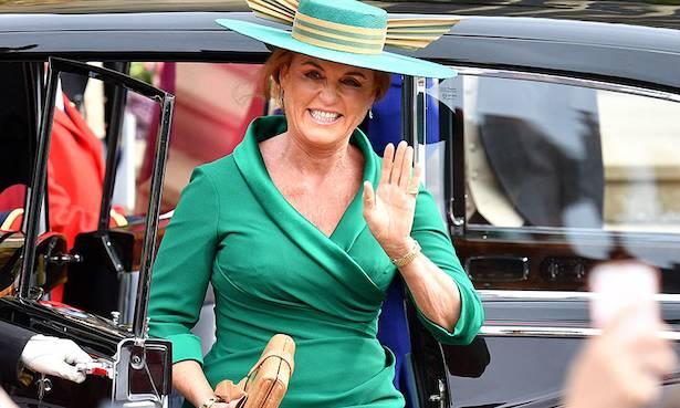 This is the poignant reason why Sarah Ferguson wore green on Princess Eugenie's wedding day Photo C GETTY