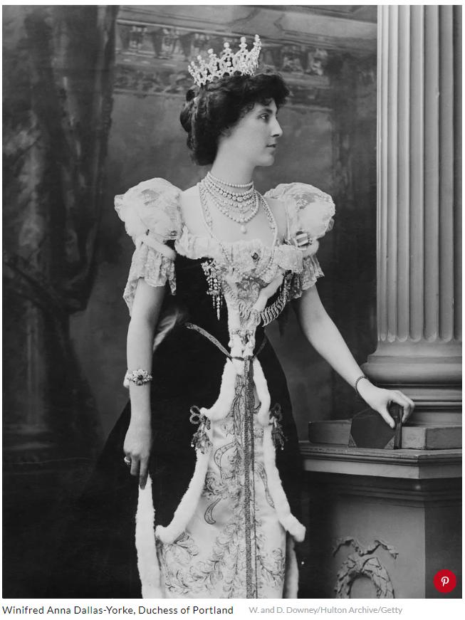 Winifred Anna Dallas Yorke Duchess of PortlandW and D Downey Hulton Archive Getty
