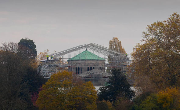 Work has finally begun on the restoration of The Royal Mausoleum Image Kelvin Bruce