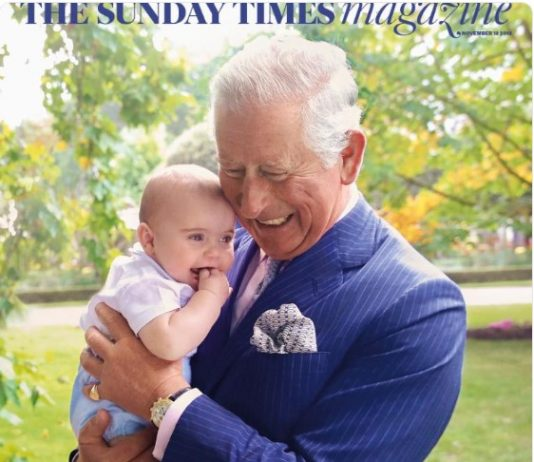 exclusive photographs of 'Grandpa Wales' captured by royal photographer chrisjack getty and out in Photo C INSTAGRAM