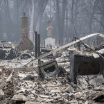 the wildfires in California have destroyed everything in their path Image GETTY