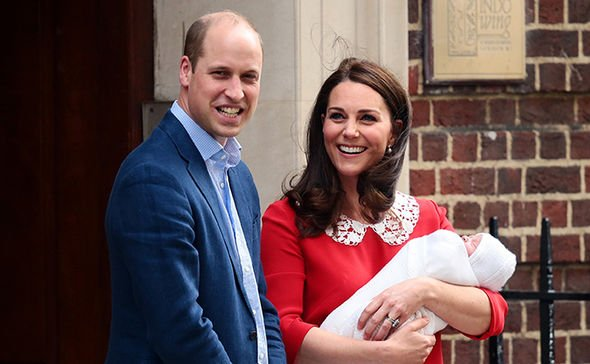 ROYAL BABY Prince Louis was born in April this year Image GETTY
