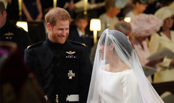 600 guests attended Meghan and Harrys wedding Image GETTY